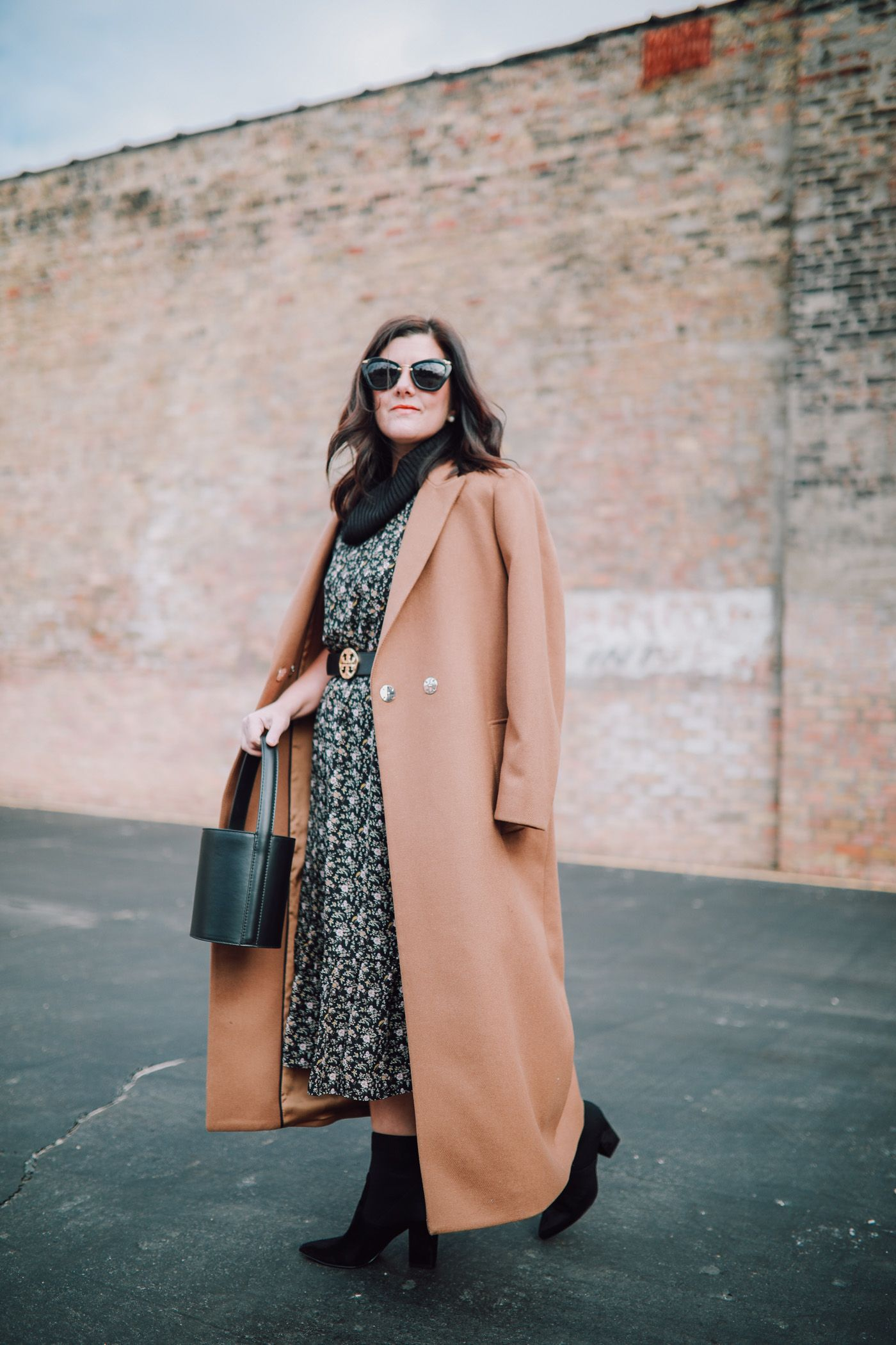 How To Style Your Summer Dress For Winter Giveaway Fashion Blogger Style Winter Winter Fashion Outfits [ 2100 x 1400 Pixel ]