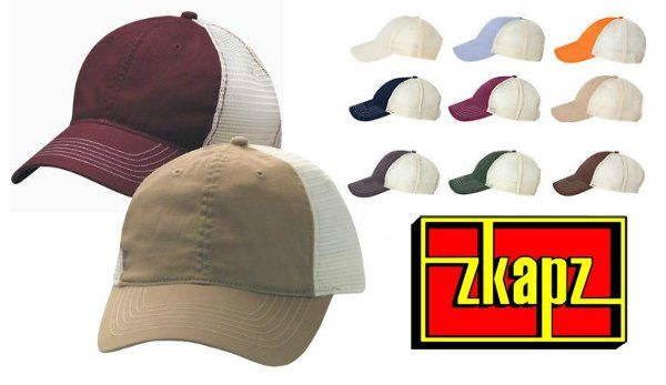 Zkapz Soft Mesh Trucker Cap from NYFifth
