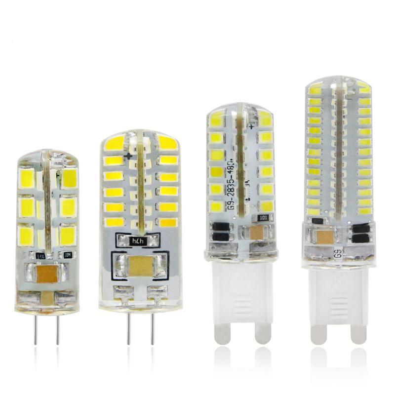Visit To Buy G4 G9 Led Lamp 3w 2w 1w Corn Bulb 220v Dc 12v Smd 2835 3014 24 48 64 104 Leds Lampada L Crystal Chandelier Lighting Chandelier Lighting G9 Led