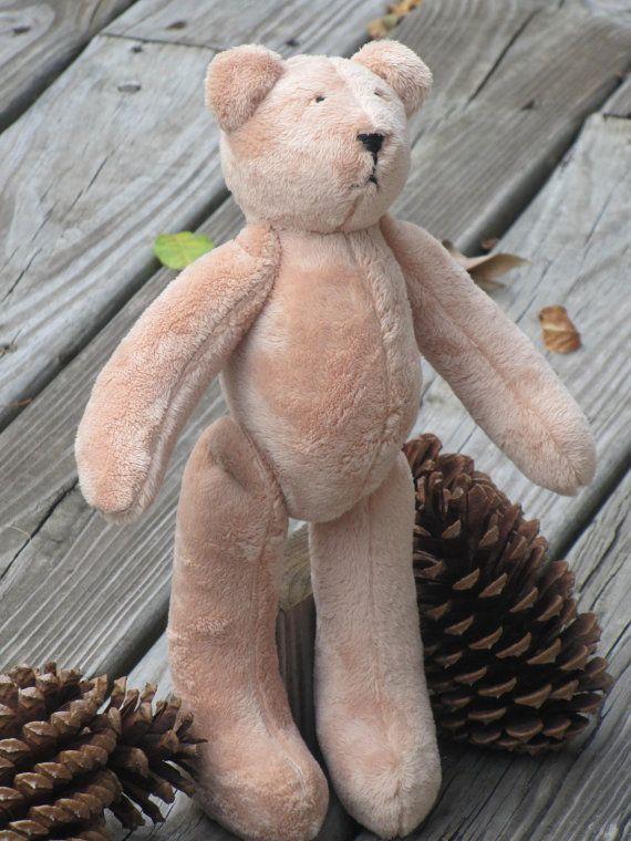 Teddy Bear soft stuffed bear toy light brown cream sand cuddly plush ...