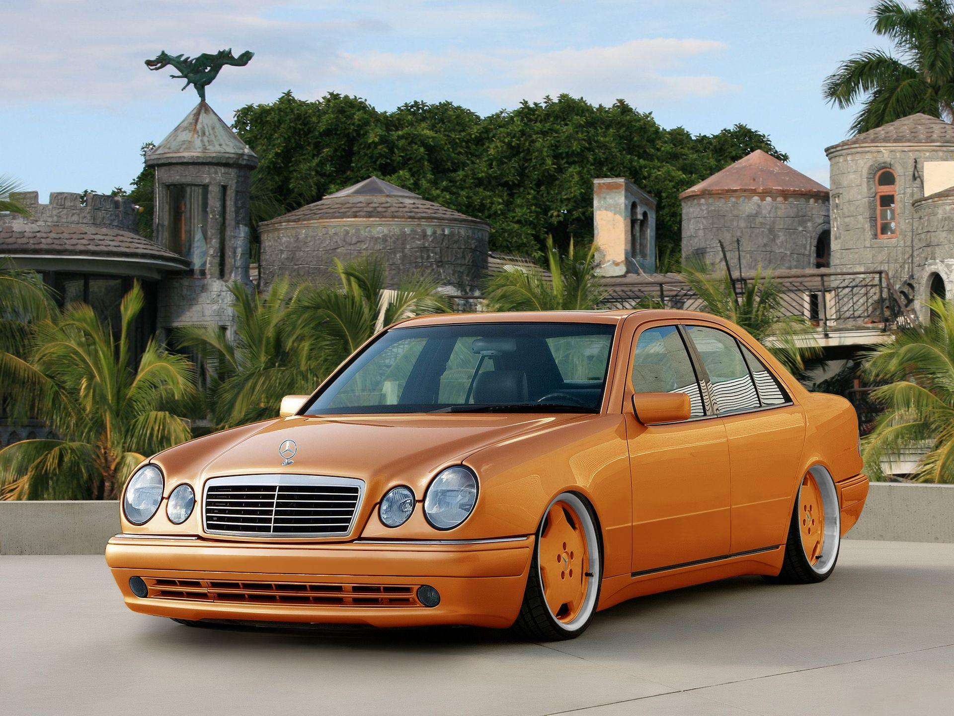 W210 orange w210 mod pinterest mercedes benz sedans for Mercedes benz orange