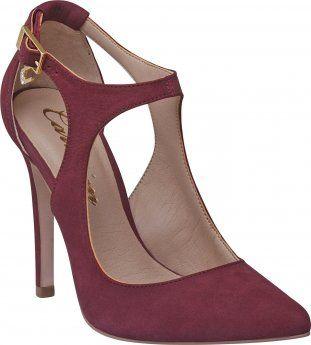 e900725de SCARPIN FEMININO DIVA CARMIM CABERNET Carmim   My Style   Zapatos ...