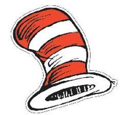 $4.99 - Dr Seuss The Cats Hat Cut-outs