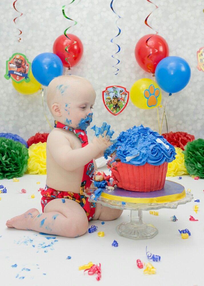 Paw Patrol Cake Smash 2 Birthday First Cakes