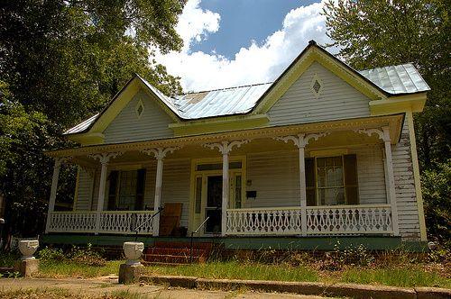 Wrightsville GA Johnson County McWhorter Outler House Folk