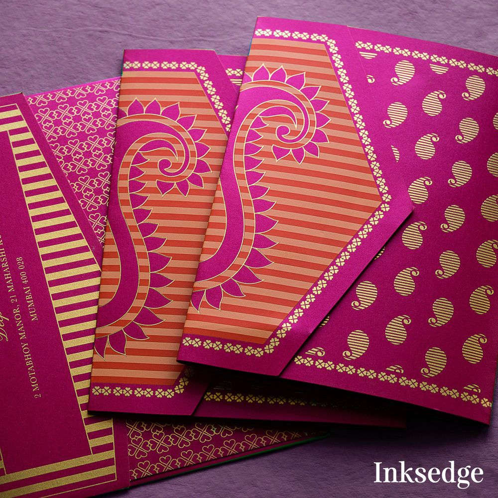 Paisleys are trending! #inksedge #inksedgeweddinginvitations ...
