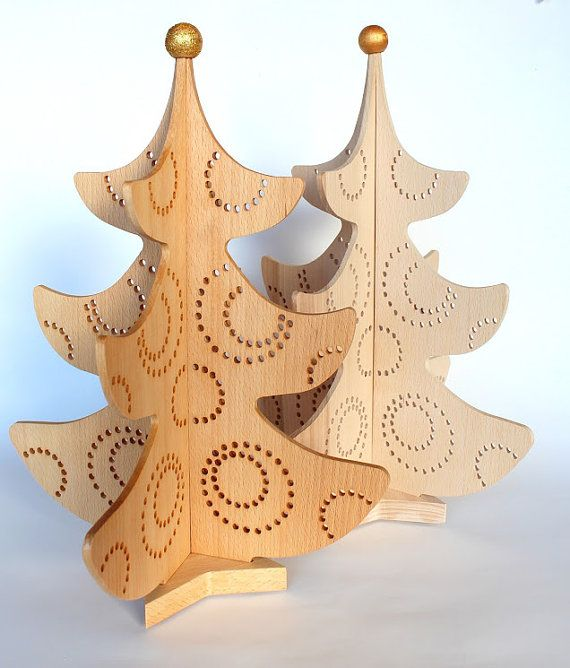Wooden Christmas tree \