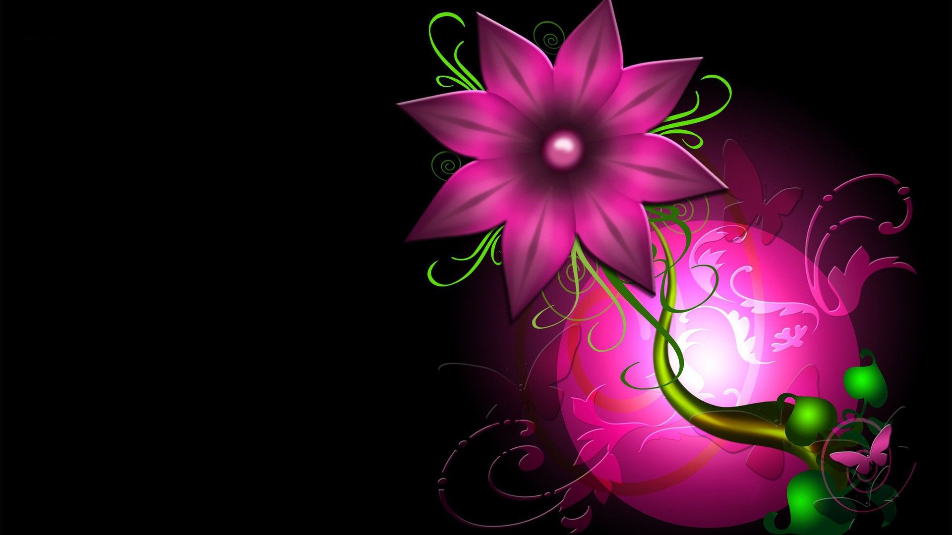 Pink Flower Hd Wallpapers 1080p Hd Wallpapers With Images