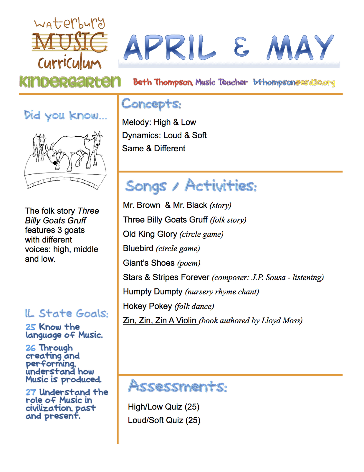 Example Of Simple Newsletter For Parents
