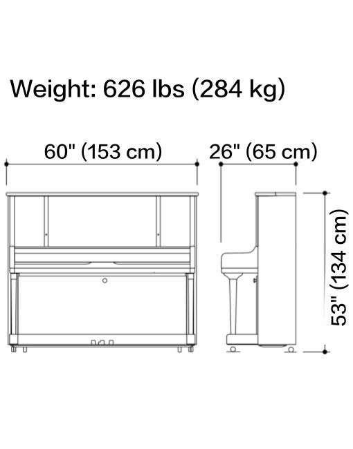 Piano upright dimensions for Small upright piano dimensions