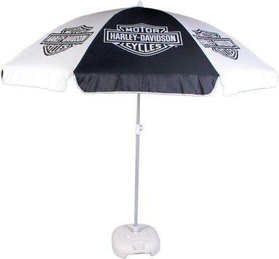 Harley Davidson® Umbrella Patio W/Base #HarleyDavidson