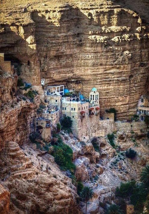 St. George's Monastery, #Israel. #Amazing #architecture around the world!