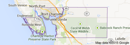Google Charlotte County Map Florida