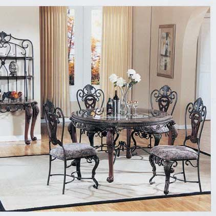 Photo Of Catania Marble Trim Glass Top Table Dining Tables