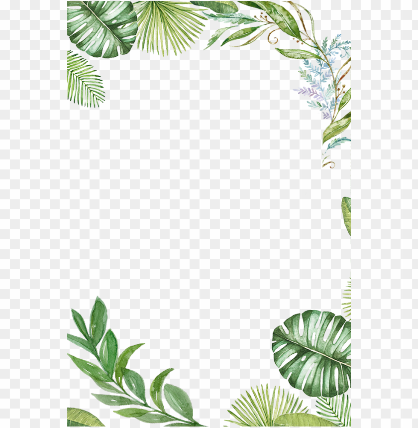 Tropical Leaves Frame Png Image With Transparent Background Png Free Png Images Painted Leaves Tropical Leaves Flower Background Wallpaper We are uploading new and fresh contents on a daily basis. tropical leaves frame png image with