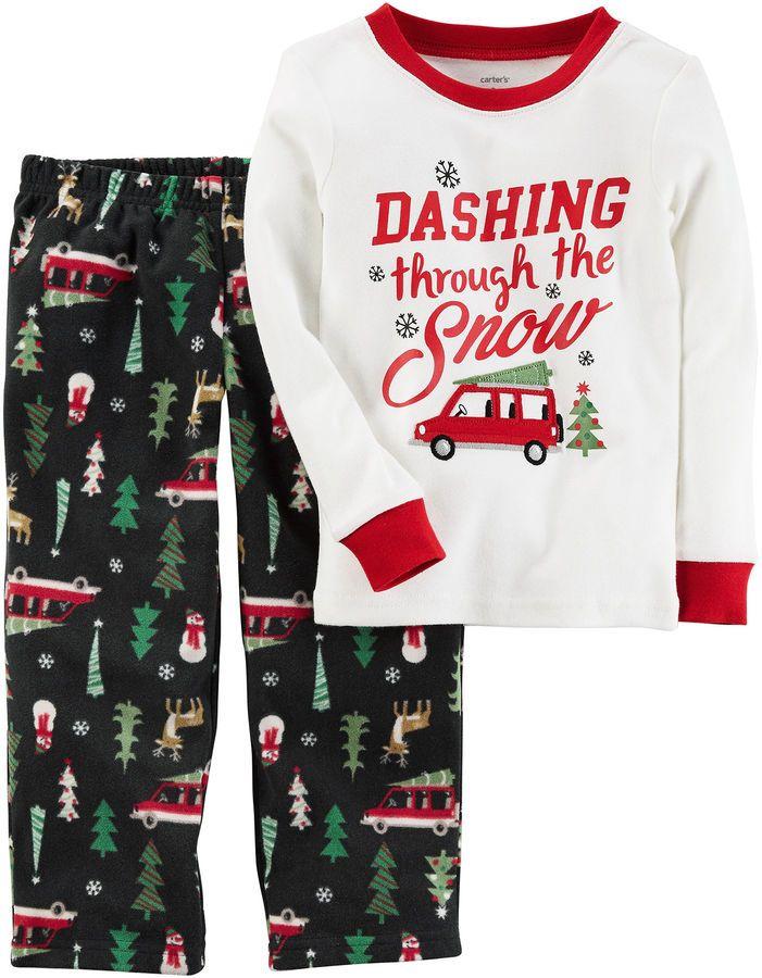9cfcf57f7 Carter's Christmas 2-pc. Pajama Set Boys   Pyjama sets, Pyjamas and PC