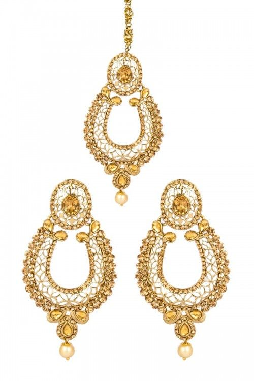 Buy New Designer Indian Jhumka Earrings online at lowest price