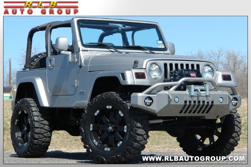 2000 Jeep Wrangler Custom Sport Lifted 4x4 Fort Worth Texas Rlb