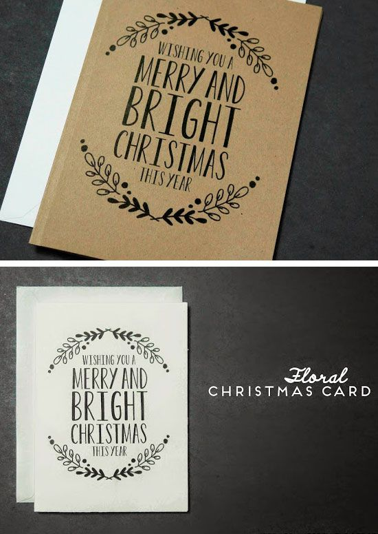 Free Christmas Card Ideas For Children To Make Part - 38: 28 DIY Christmas Card Ideas For Families