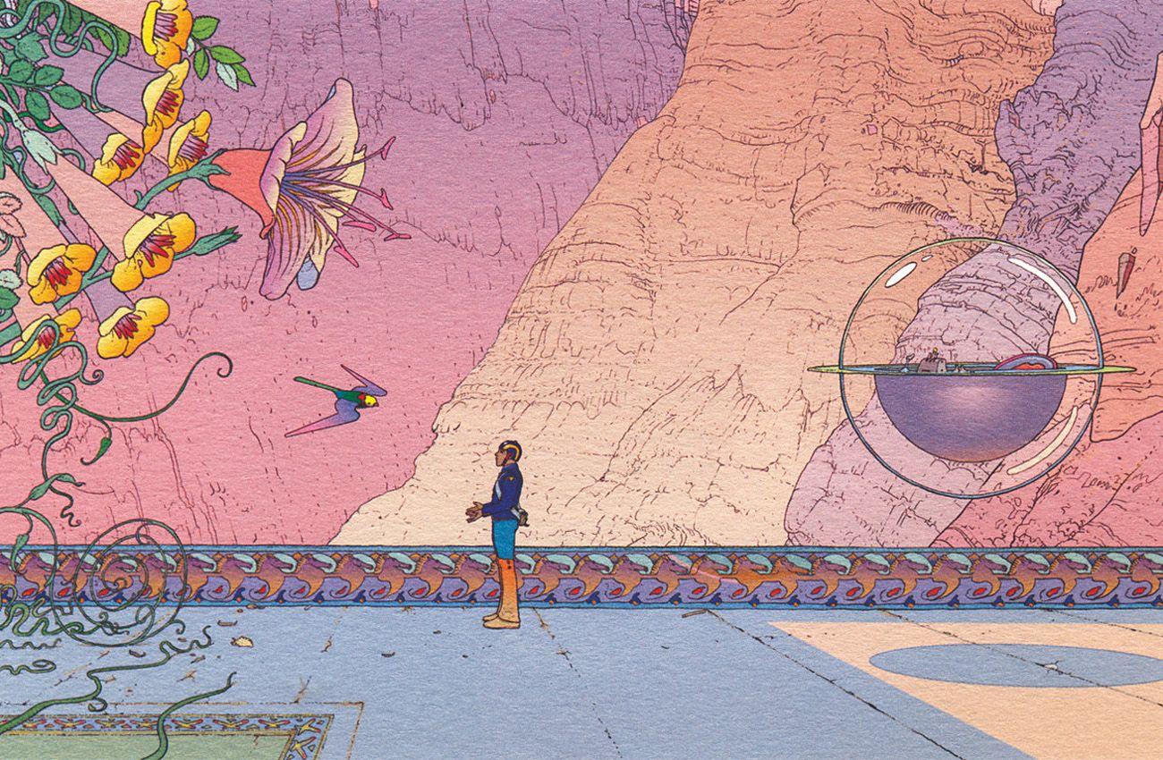 Moebius - Voyage d'Hermès (2011)