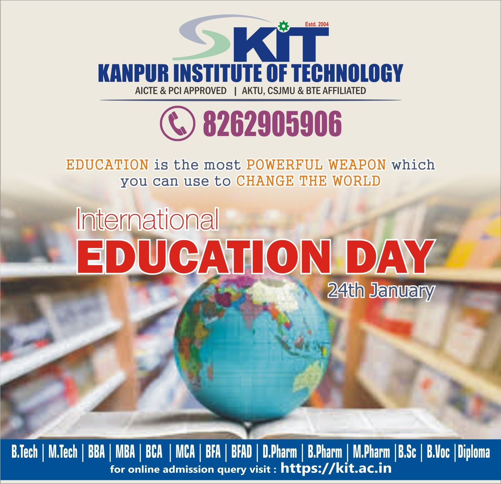 International Education Day 24th January In 2021 Education Day International Education Education