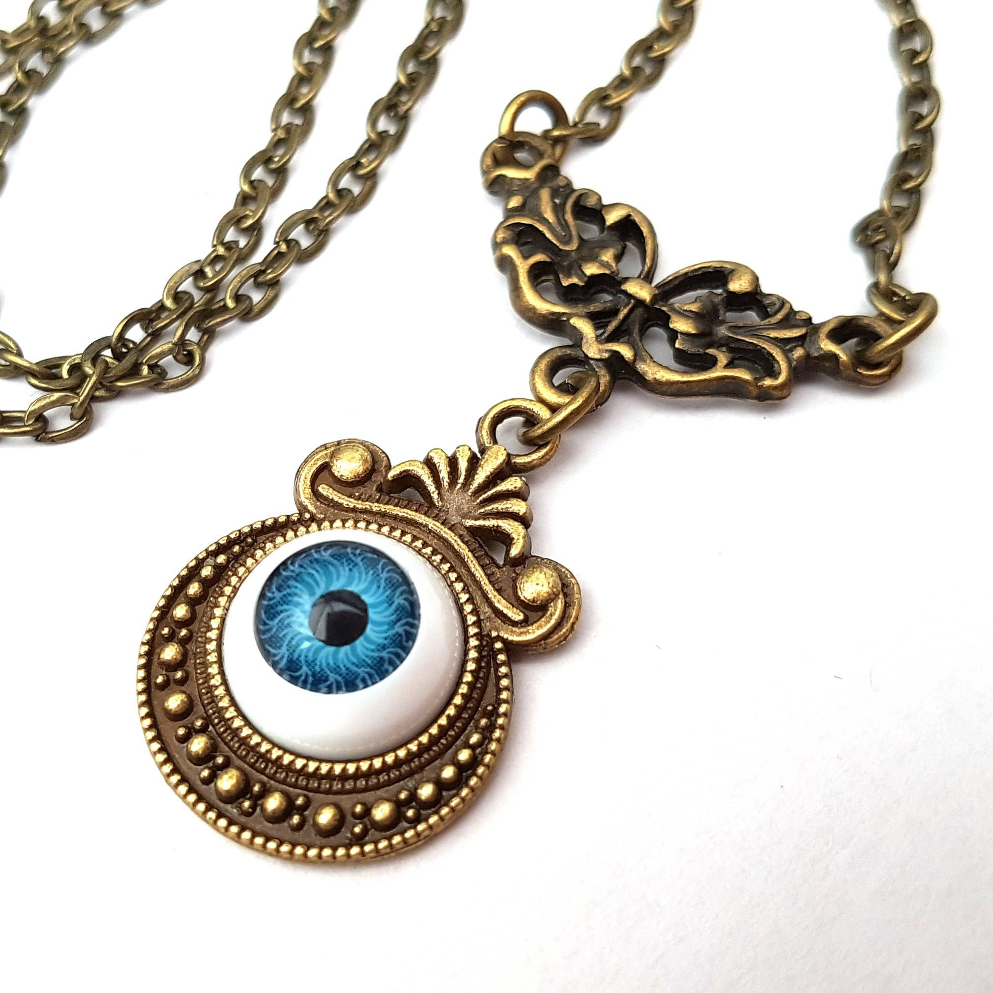 necklaces bl oz by abstract chokers flying brand blue tokyo en eye silver product pendants vertical information eyeball cat necklace catalogue