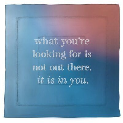 What You Are Looking