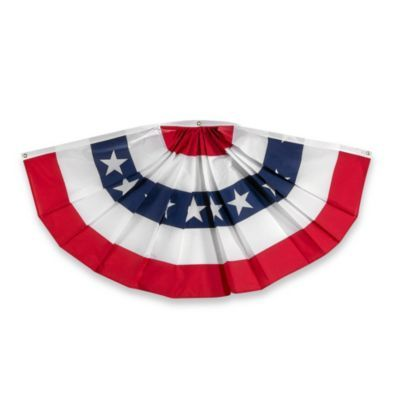 3 Foot X 6 Foot Traditional Usa Bunting Banner American Flag Bunting Patriotic Bunting Traditional Bunting