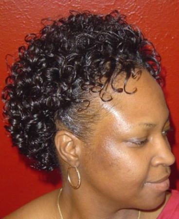 Permed Hairstyles For Black Women Over 50 | curly hairstyles for african american women over 50