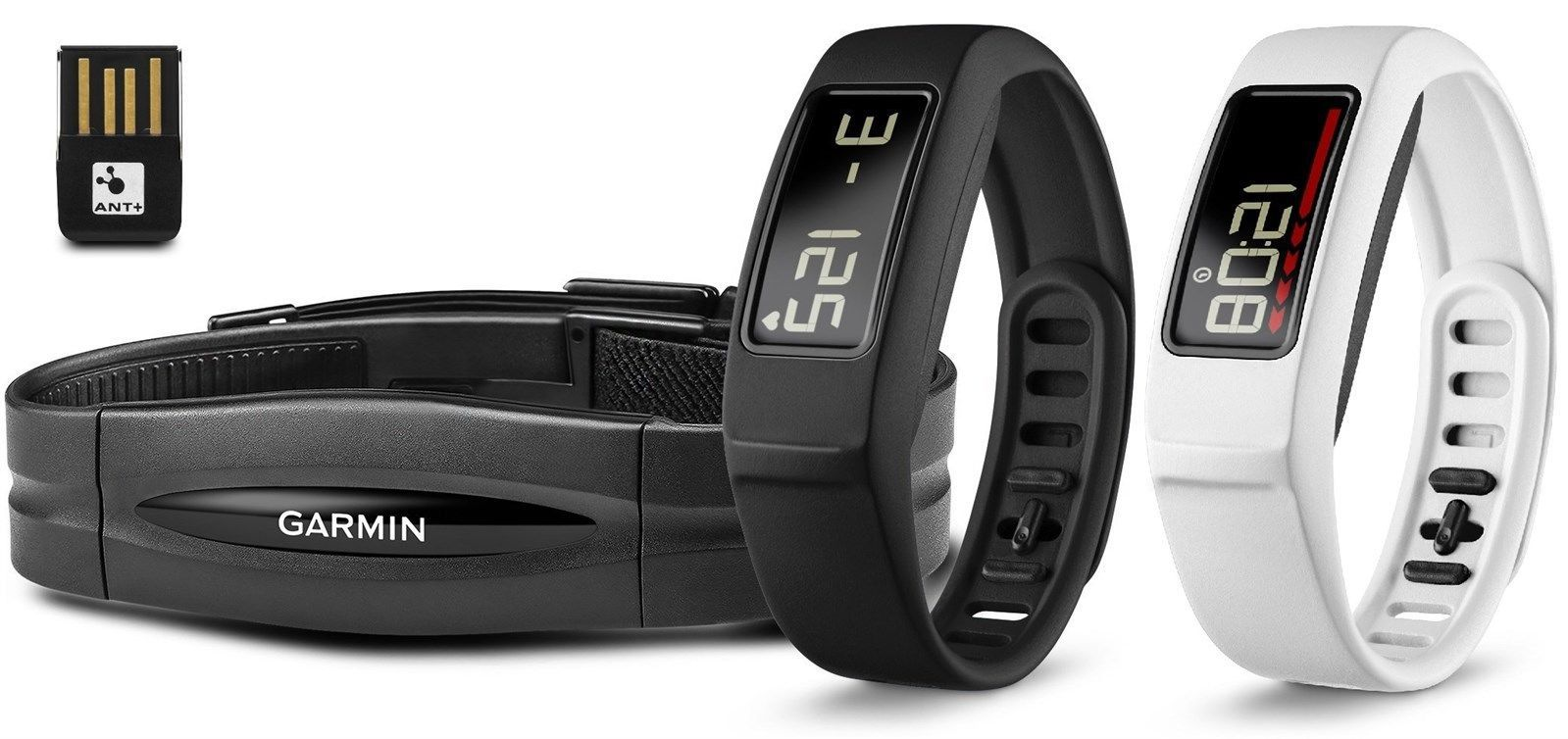 New Garmin Vivofit 2 Activity Tracker Fitness Bundle w