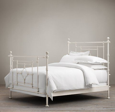 Rh S Metal Woven Beds Those Who View The Bedroom As An Extension