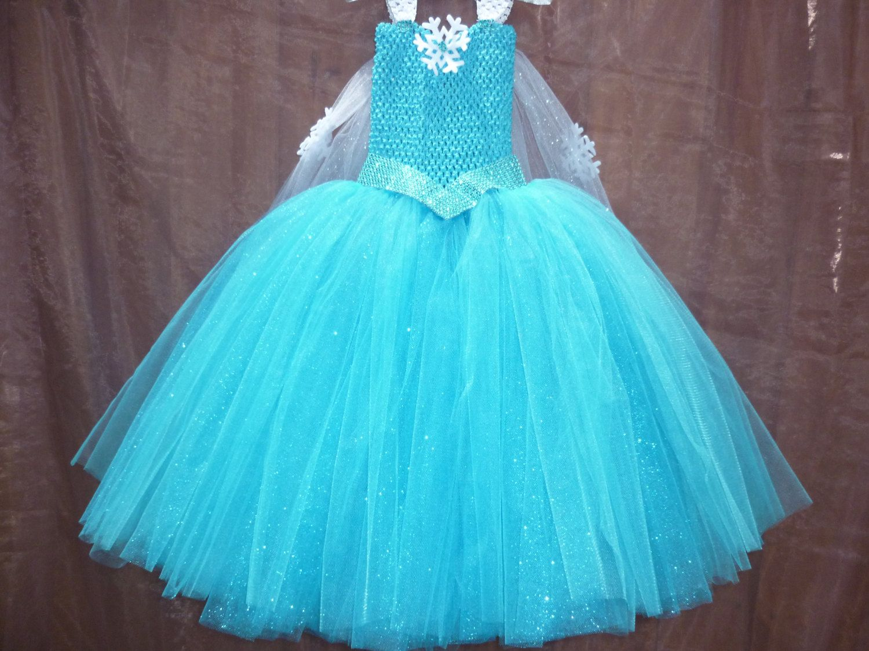 Frozen dress, Frozen party dress, Elsa dress, Frozen tutu dress ...