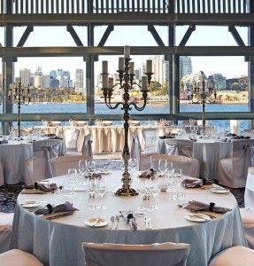 Water Pier One Sydney S Premier Waterfront Wedding Reception Venue Sebel