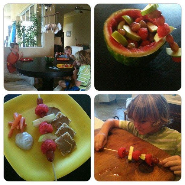 Melon-ball/Fruit Salad ! by Kelli-adventurezinchildrearing