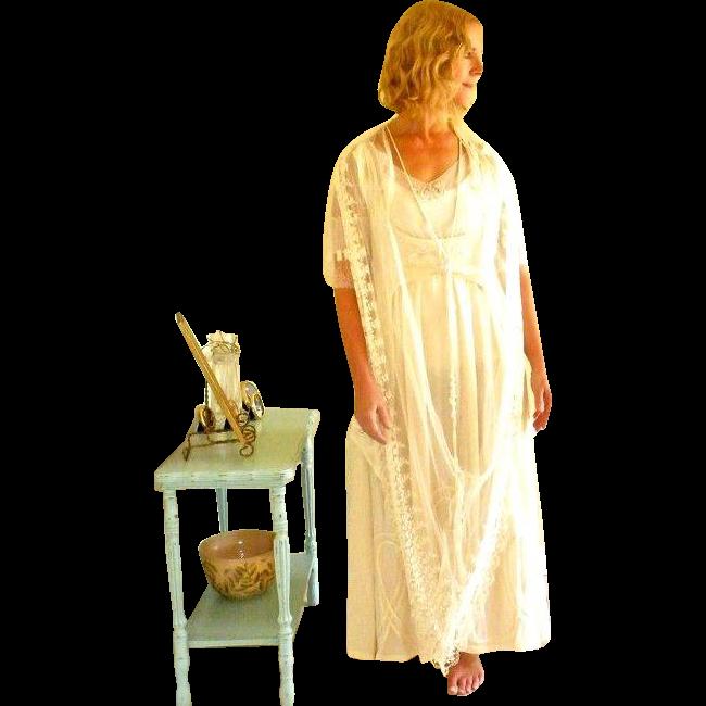 Antique Wedding Dress, Edwardian 1920s Wedding Dress, Beaded Silk ...