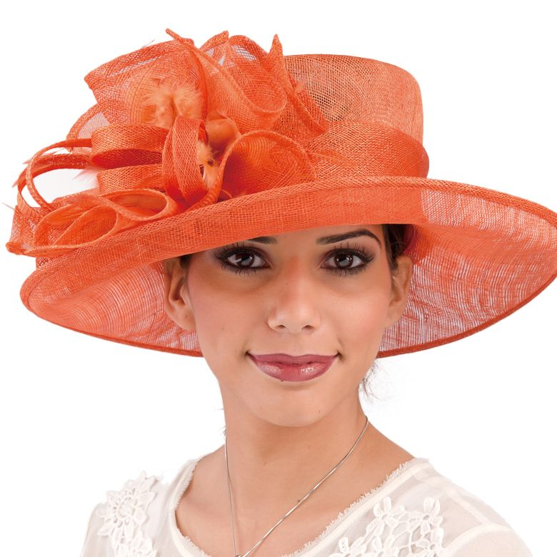 5f5675a5ccc9 Burnt orange Simamay church hat   International convention in 2019 ...