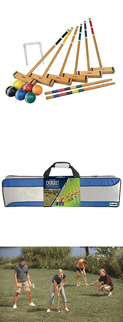 Croquet 117210: Franklin Sports Six Player Croquet Set Classic -> BUY IT NOW ONLY: $51.28 on eBay!