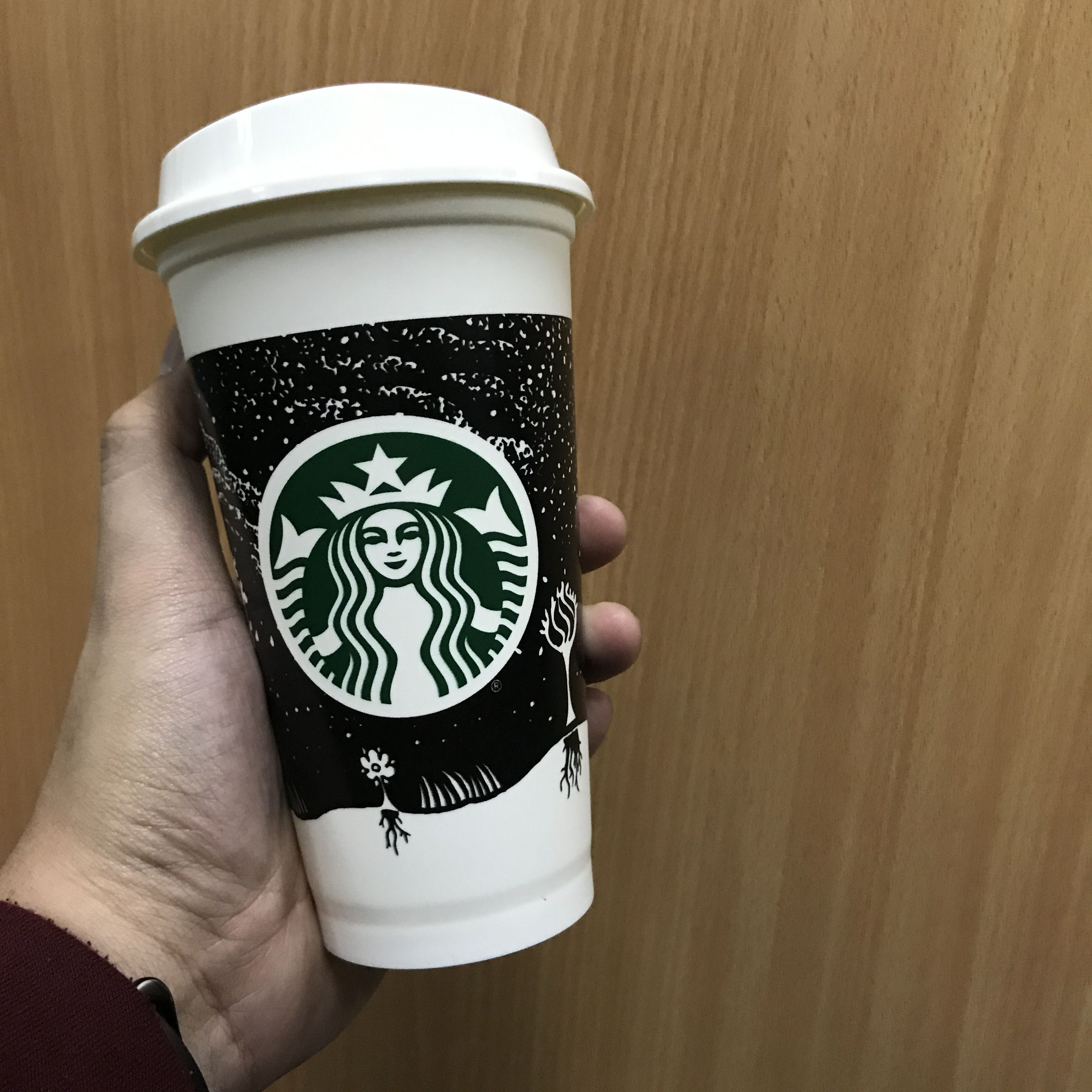 Night sky reusable cup starbucks (With images) Reusable