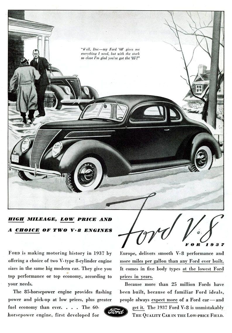 Gentil 1937 Ford