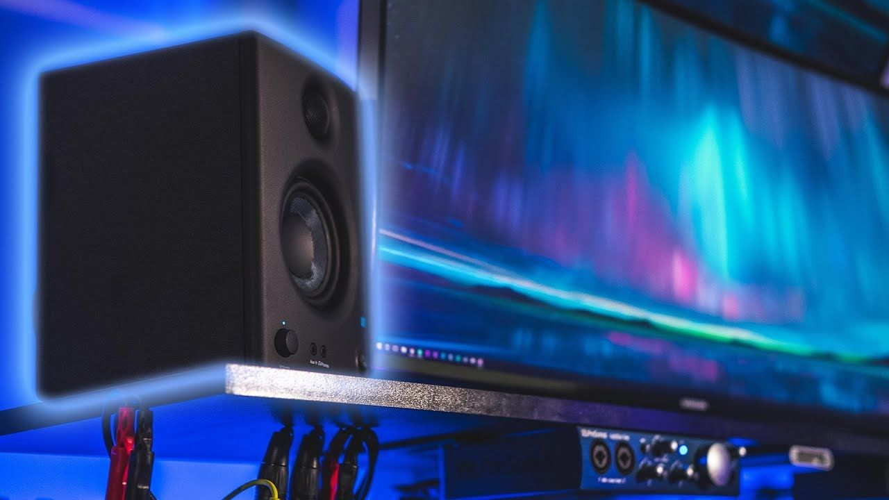 Pro Audio On A Budget - Presonus Eris E3 5 Active Media