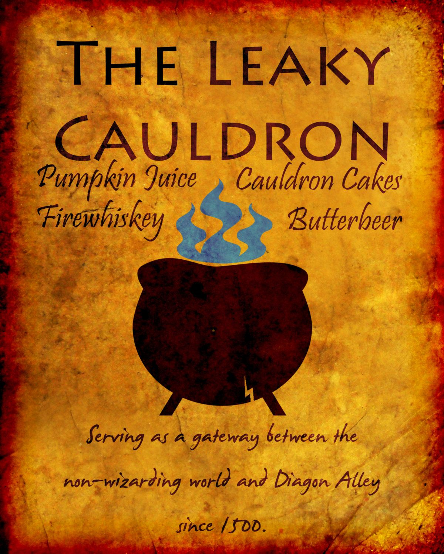 Leaky cauldron pub sign google search leaky cauldron