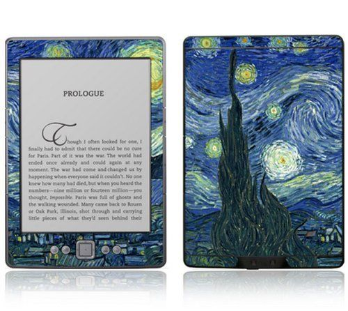 Starry Night Design Decorative Skin Decal Sticker for Amazon Kindle 4 (5-way controller - 4th Gen / release in Oct 2010) by Starry Night. $14.99. Liven up your reading and help keep your Amazon KIndle 4 (5-way controller - 4th Gen / release in Oct 2010) ooking like new with this fun and protective decal sticker. Made of durable cast vinyl and a high-gloss clear laminate coating, this skin decal keeps your Kindle 4 safe from daily bumps and scratches while maintaining a slim ...
