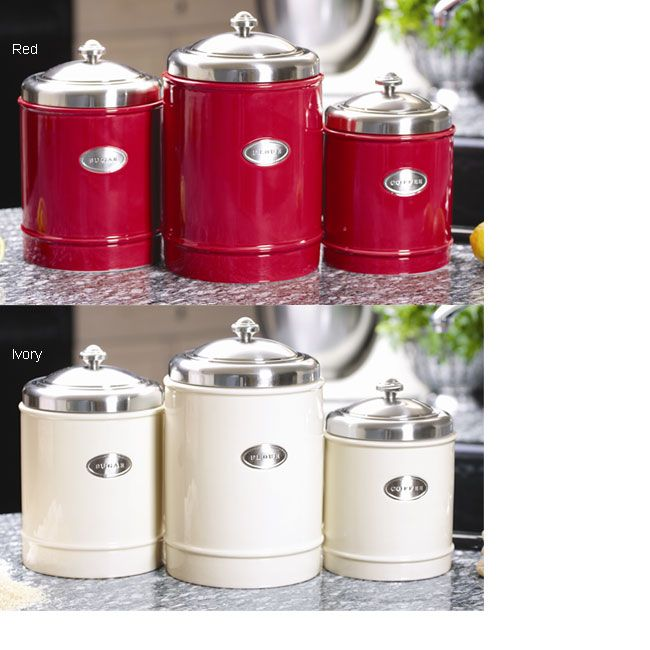 Specialty Kitchen Stores Padded Chairs 79 99 A Popular Item At Gourmet And This Capriware Canister Set Brings Functional Style To Any