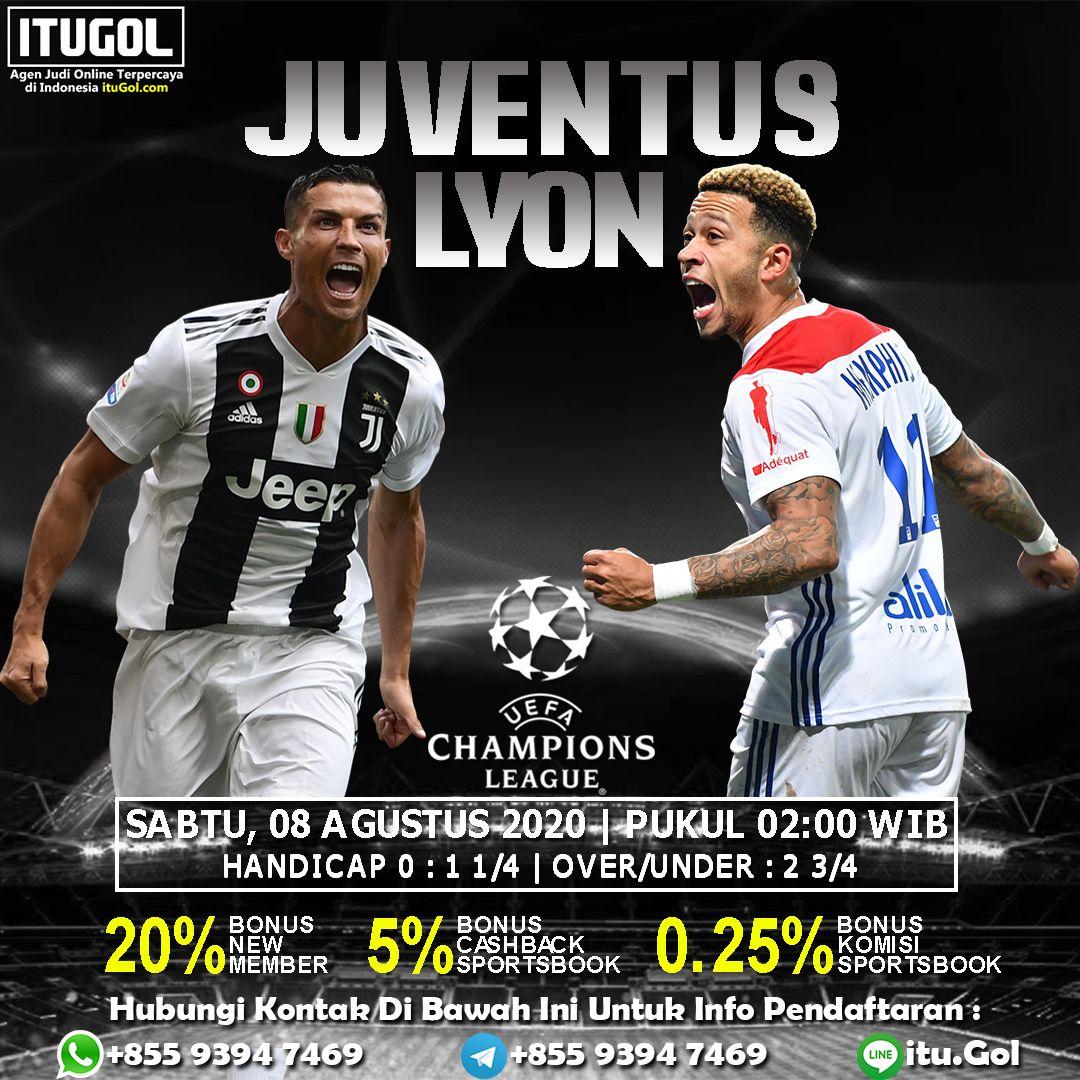 Prediksi Juventus Vs Lyon 8 Agustus 2020 Liga Champions In 2020 Juventus Lyon Champion