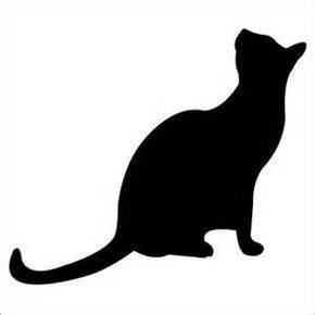 Cat Template Printable - Bing images | sewing | Pinterest | Craft