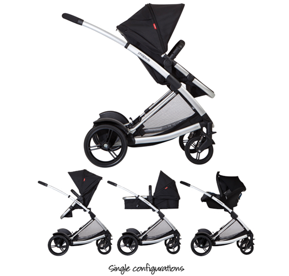 Phil & Teds Promenade Stroller Review - extra double seat with car ...