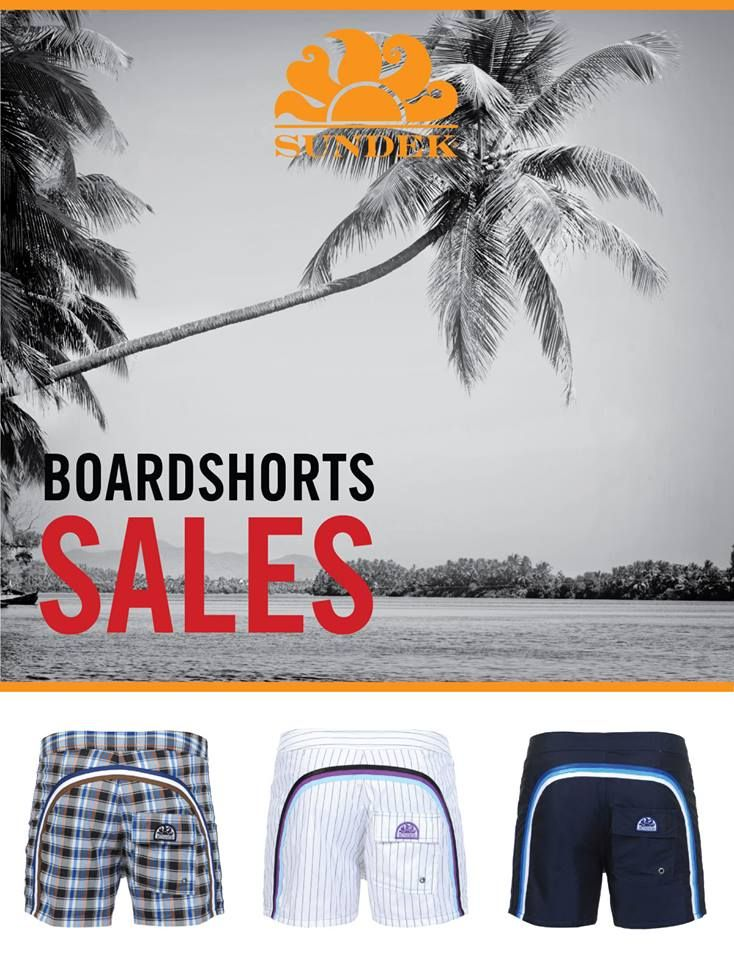 Boardshort Sales on www.mrbeachwear.com #sundek #sales #mrbeachwear #summer #sun #boardshort #mens #fashion