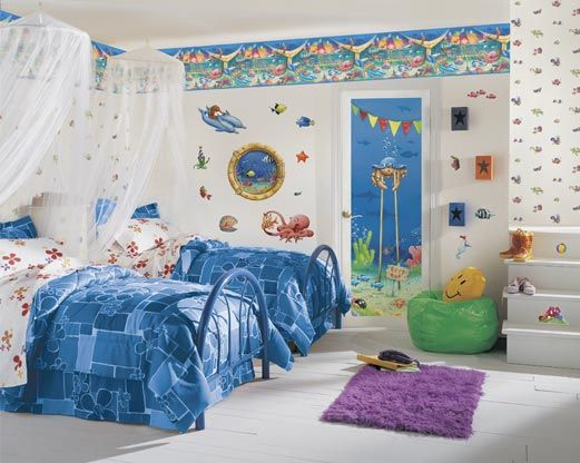 Aquatic 2 U2013 Cool Kidu0027s Bedroom U0026 Painting Ideas | | Home Designs And  Pictures Part 87