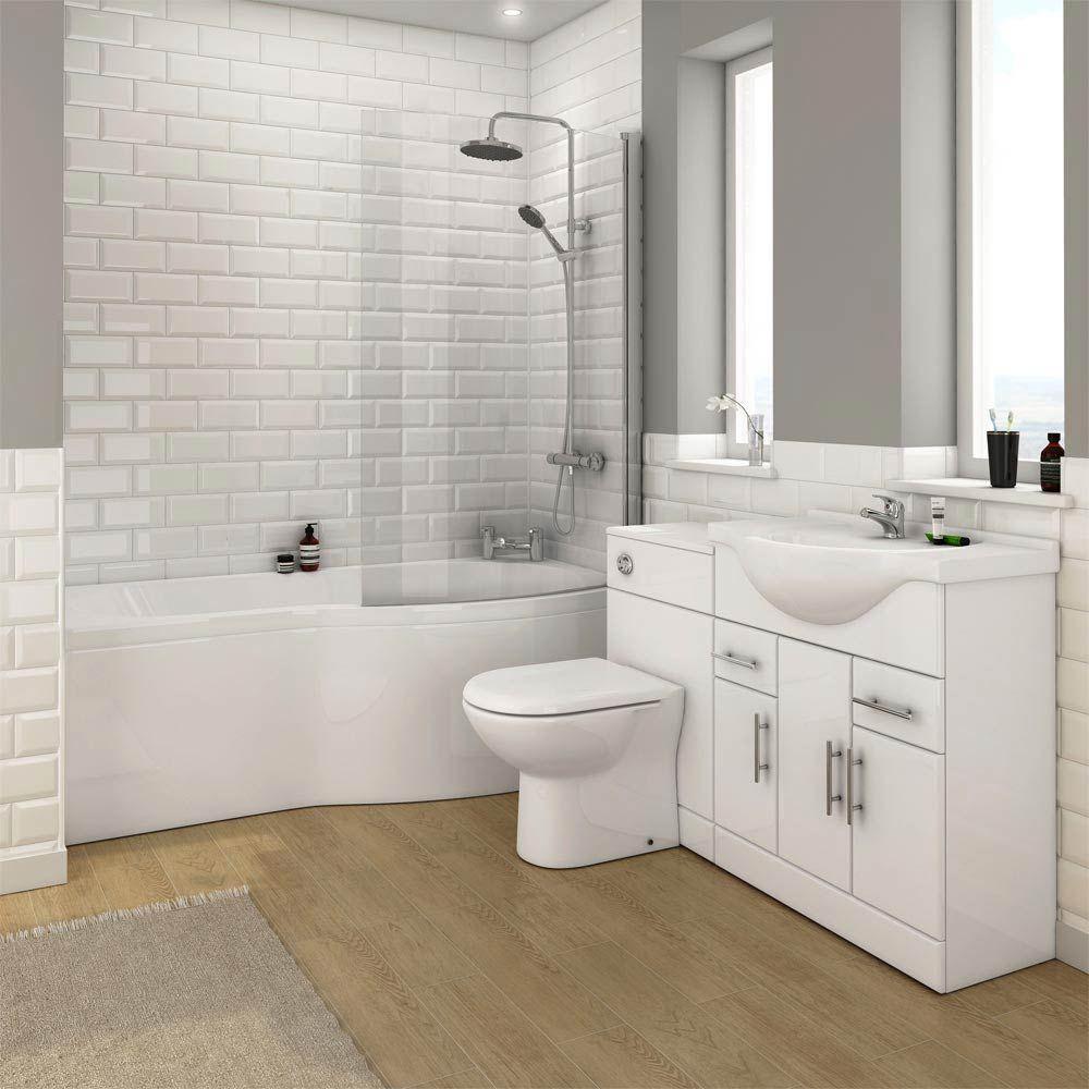 Image result for white metro bathroom tiles | Bathroom | Pinterest ...