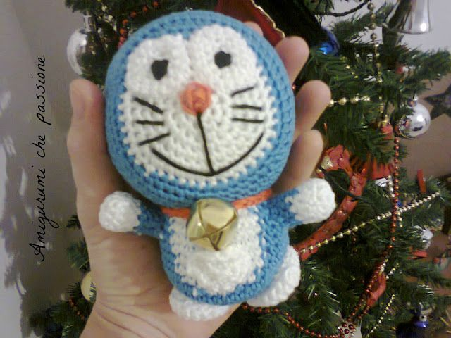 Crochet Doraemon Amigurumi : Doraemon amigurumi #doraemon #amigurumi #crochet #cartonianimati